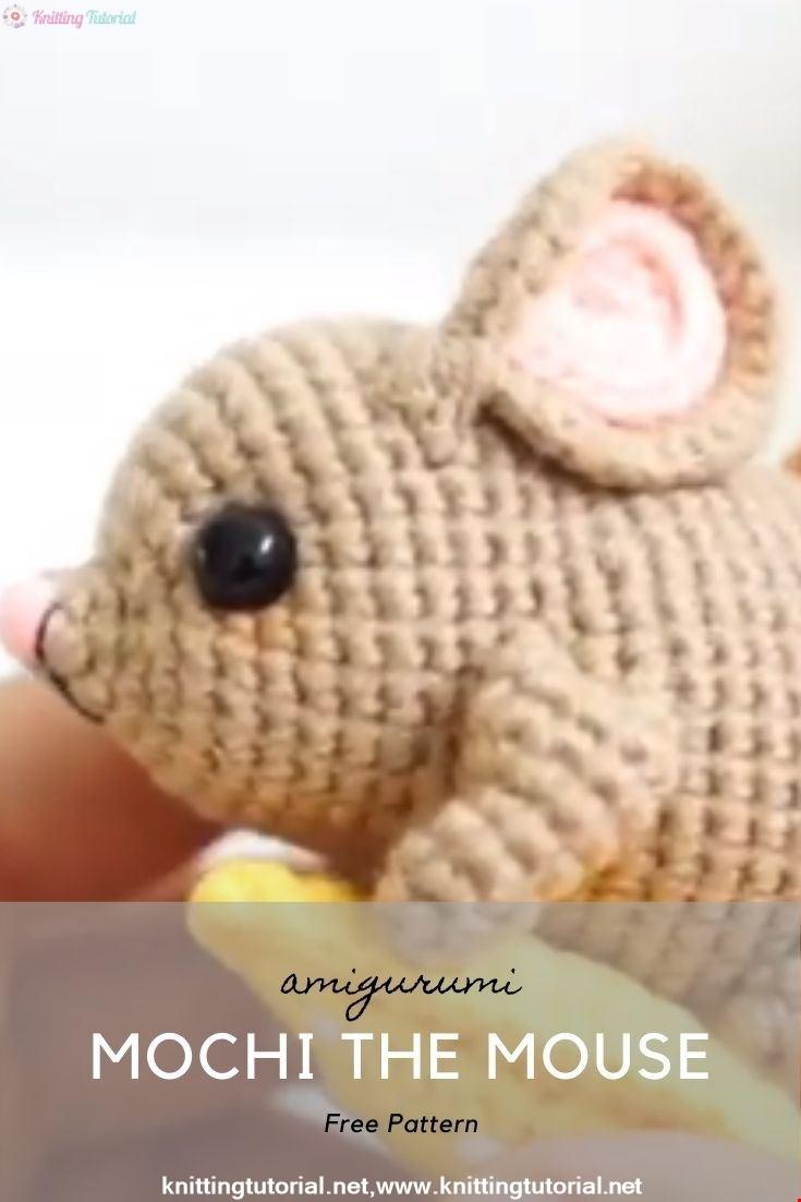 Mochi the Mouse Amigurumi