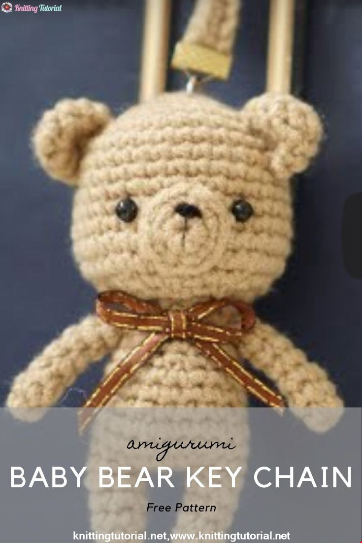 Baby Bear Key Chain