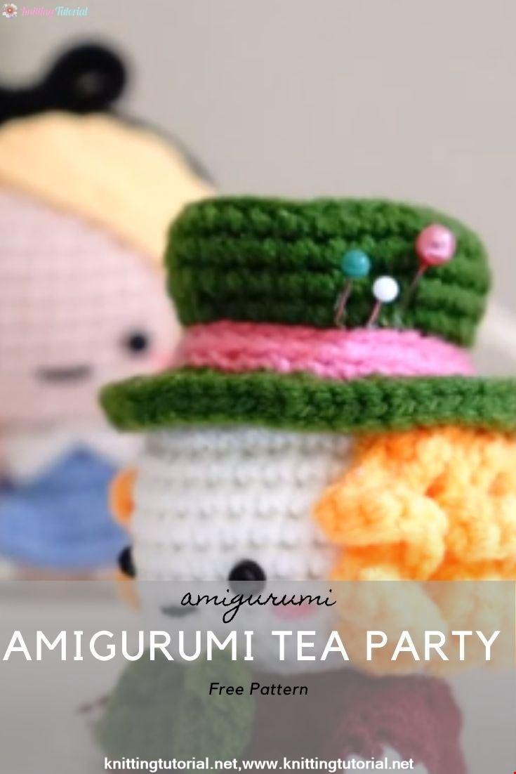 Amigurumi Tea Party