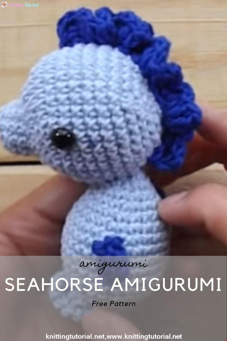 Seahorse Amigurumi