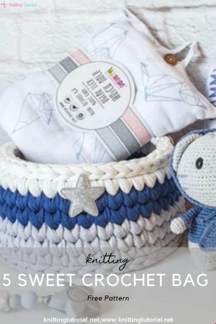 5 Sweet Crochet Bag Pattern