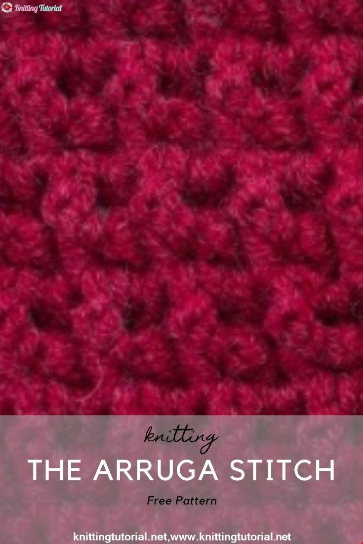 The Arruga Stitch :: Crochet Stitch  :: Right Handed