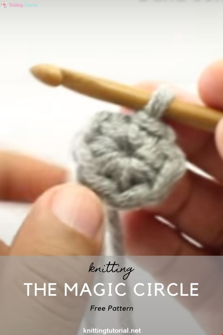 The Magic Circle :: Crochet Technique :: Right Handed