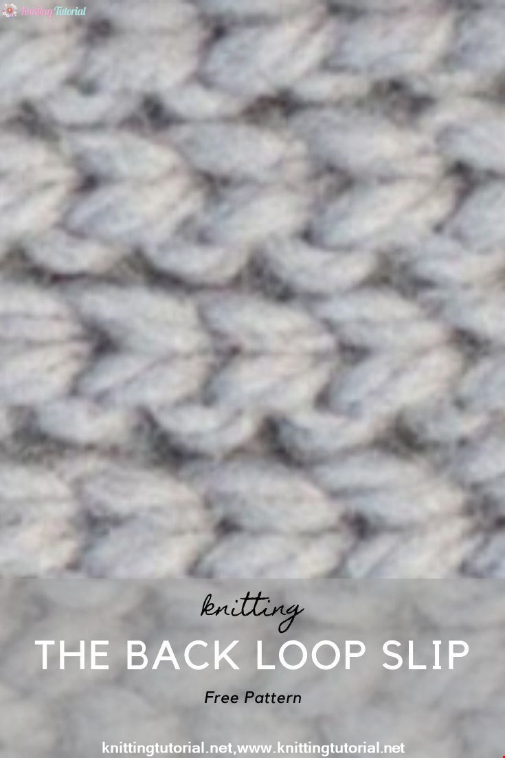 How to Crochet the Back Loop Slip Stitch