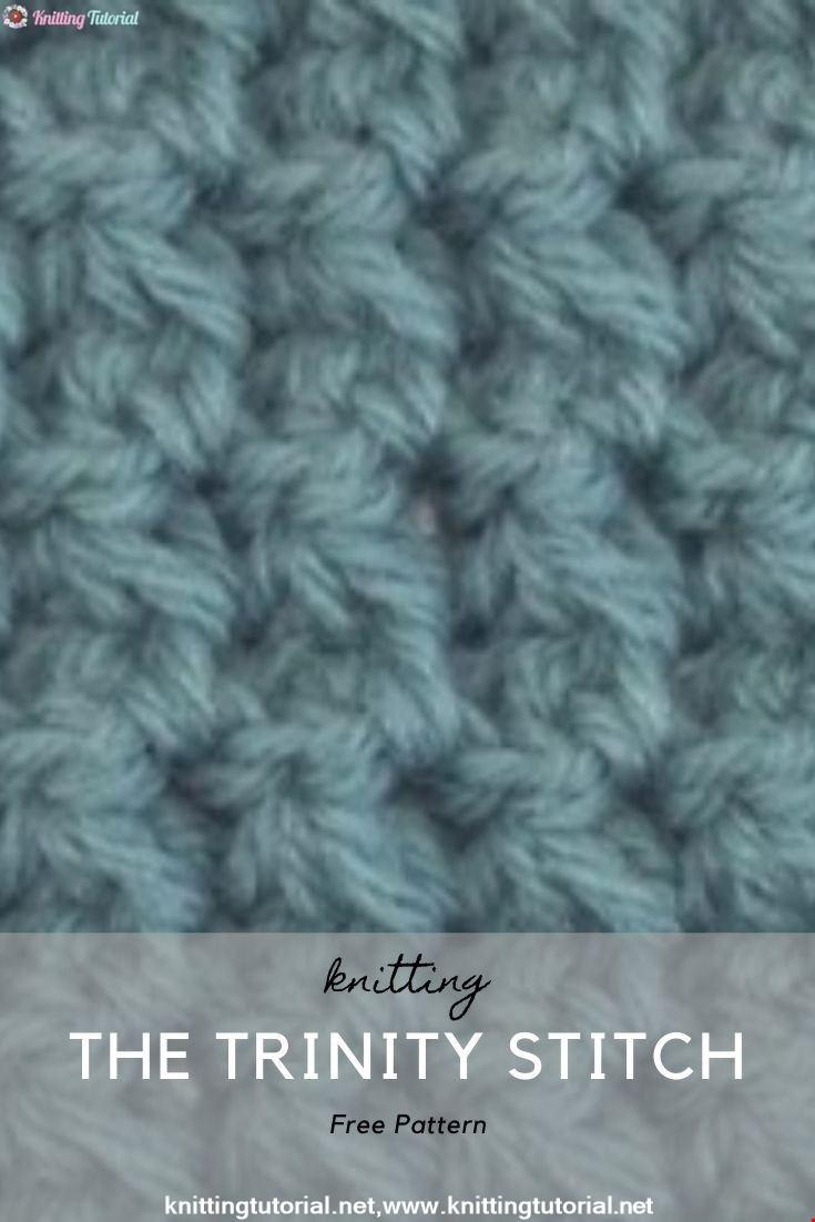 How to Crochet the Trinity Stitch