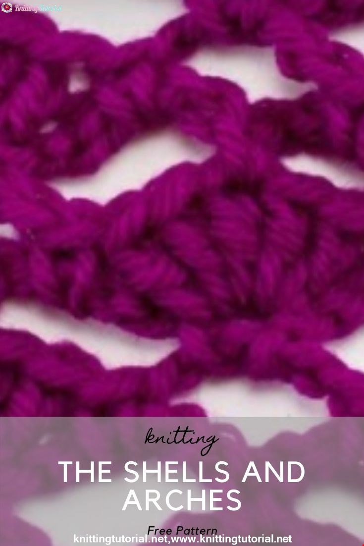 How to Crochet the Shells and Arches Stitch