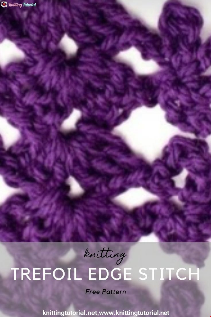 Trefoil Edge Stitch
