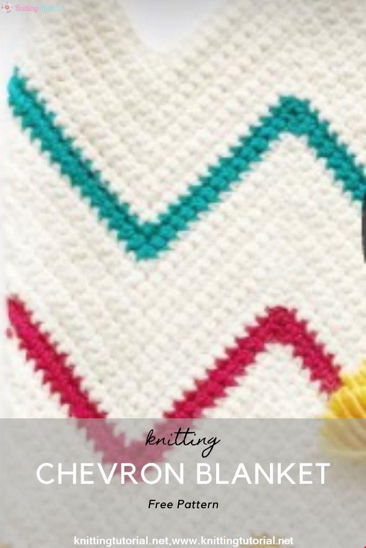 How to Start a Crochet Chevron Blanket