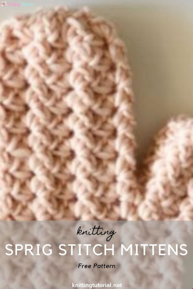 Crochet Sprig Stitch Mittens Part 1: Starting the Mitten
