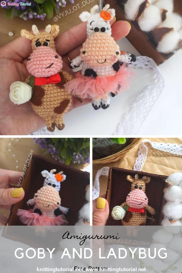 Amigurumi Goby And Ladybug Crochet Pattern