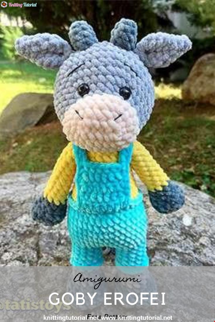 Amigurumi Goby Erofei Crochet Pattern