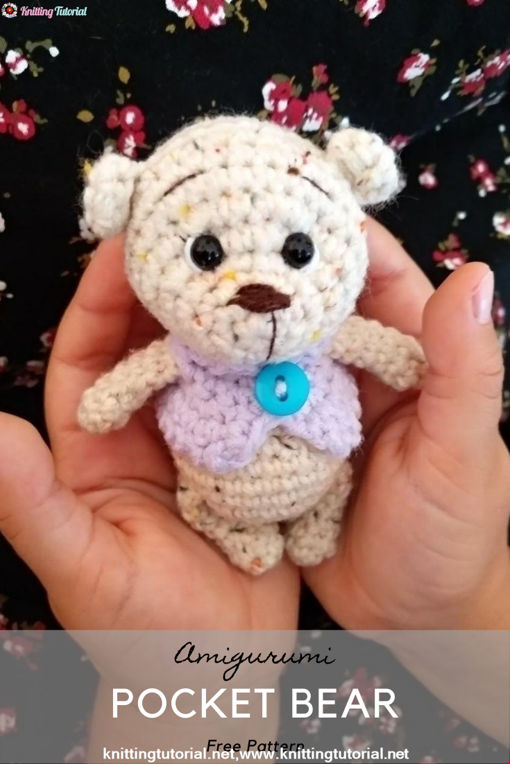 Amigurumi Pocket Bear Crochet Pattern