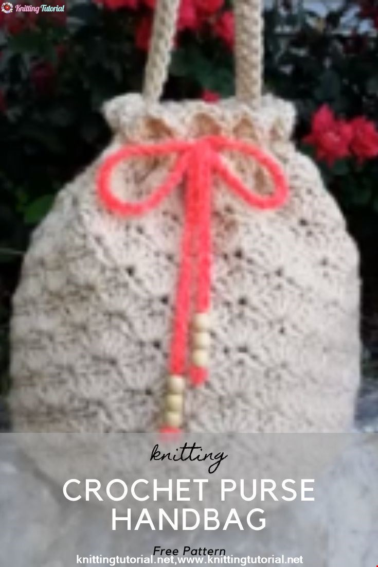 Crochet Purse Handbag