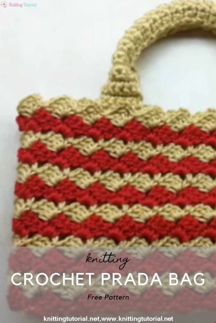 Crochet Prada Bag