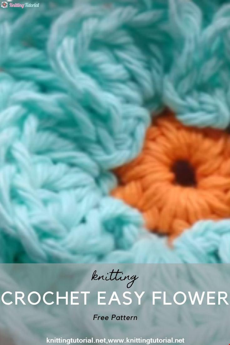 Crochet Easy Flower