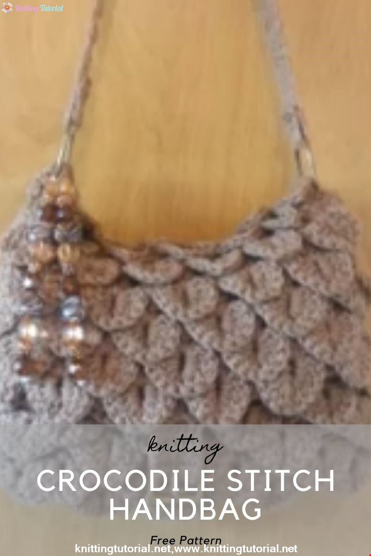 Crocodile Stitch Handbag