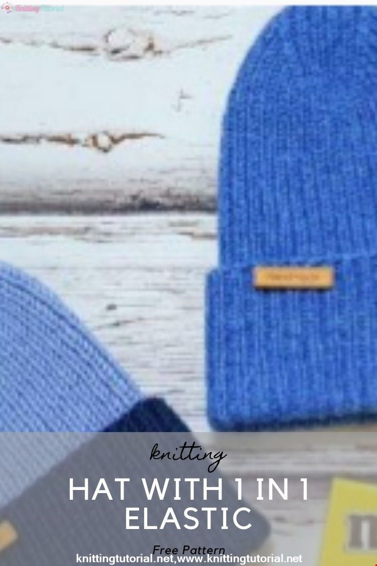 Hat with 1 in 1 Elastic