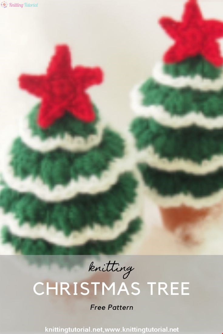CHRISTMAS TREE PATTERN AND TUTORIAL