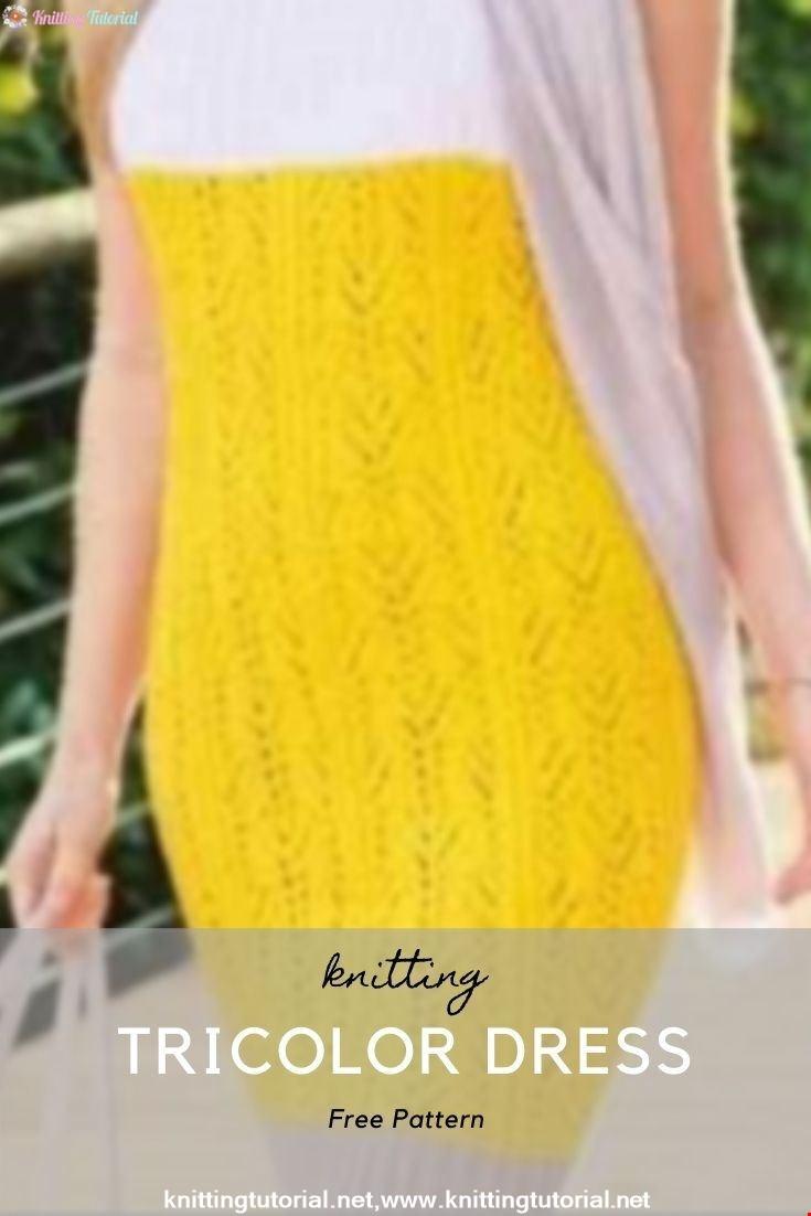 Tricolor Dress