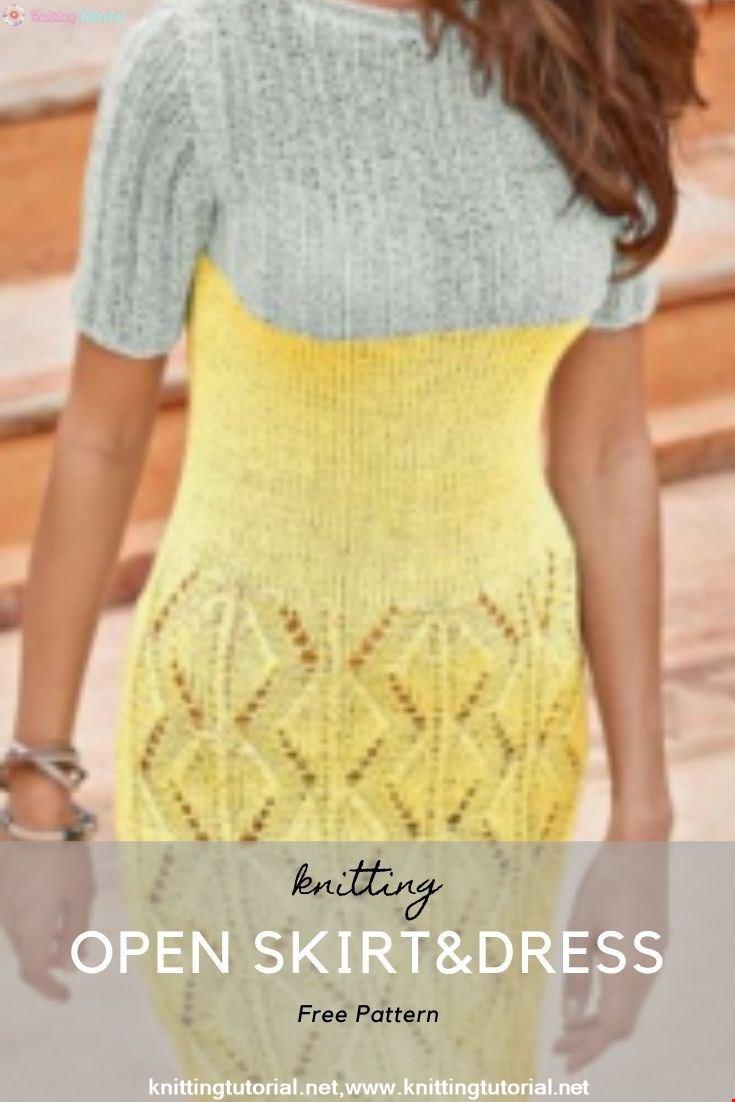 Open Skirt&Dress
