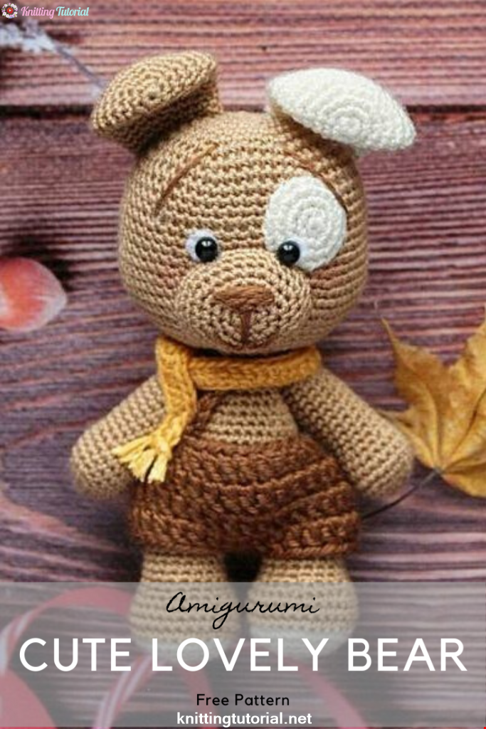 Cute Lovely Bear Amigurumi