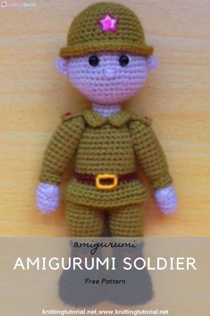 Amigurumi Soldier