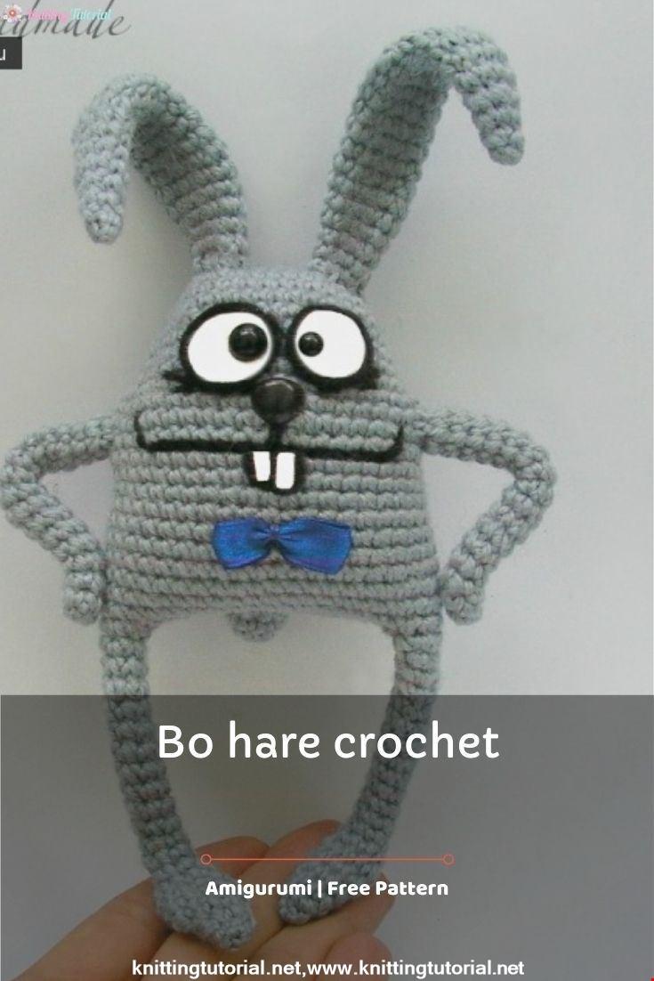 Bo hare crochet