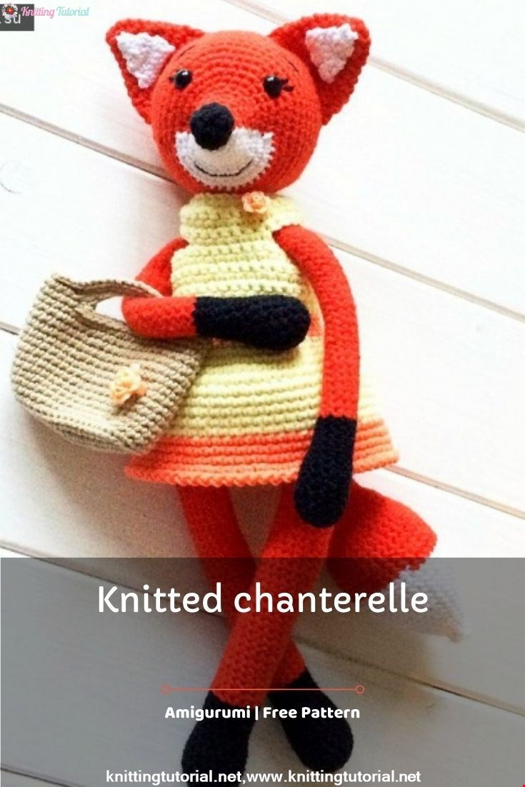 Knitted Chanterelle