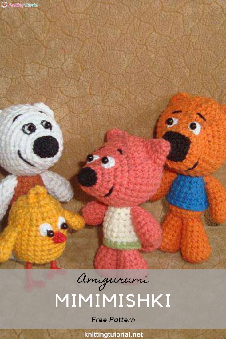 Mimimishki Amigurumi Crochet Pattern