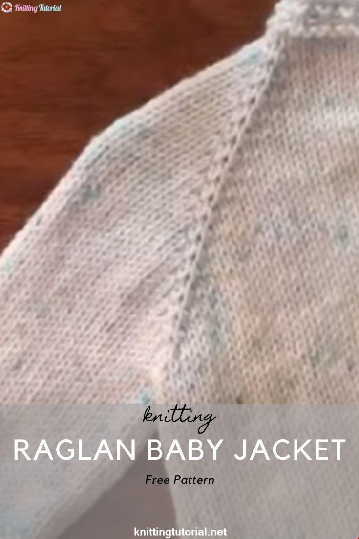 Star Stitch Raglan Baby Jacket