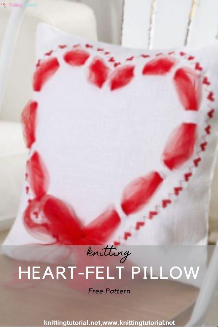 Heart-Felt Pillow