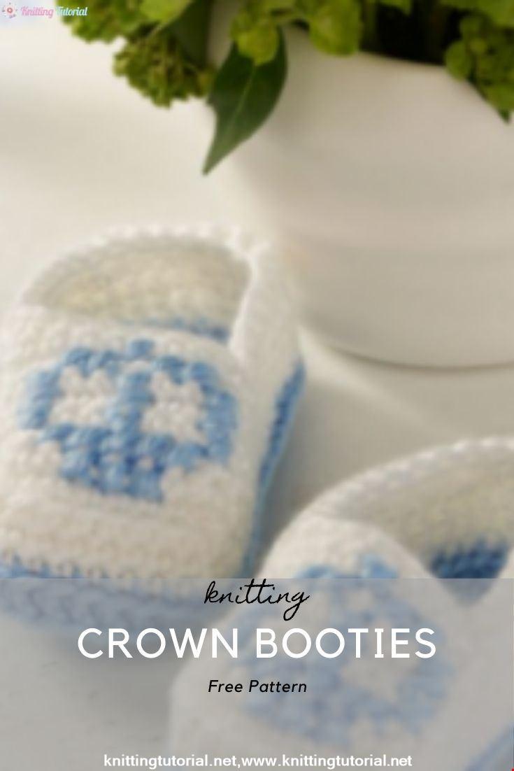 Crown Booties