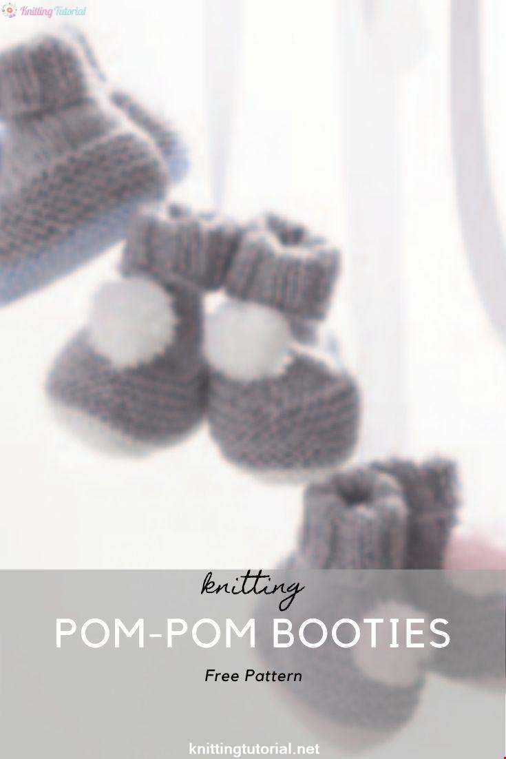 Pom-Pom Booties