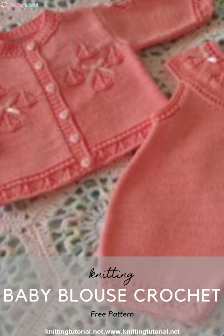 Baby Blouse Crochet