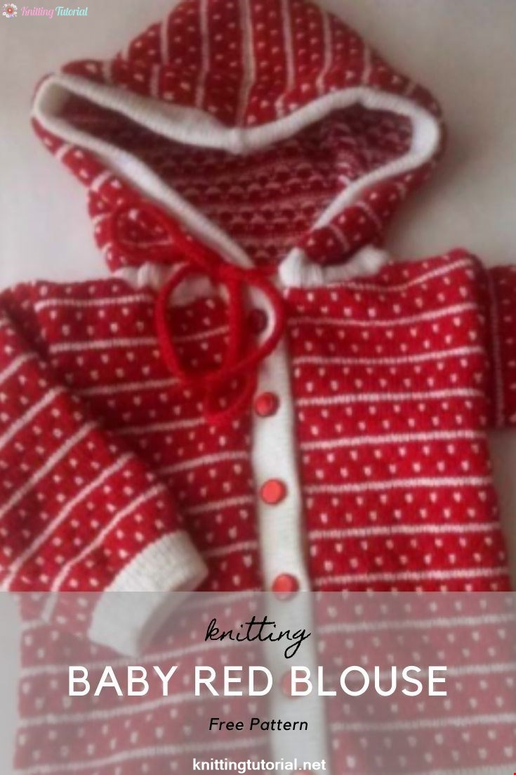 Baby Red Blouse