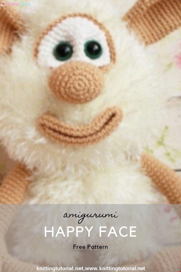 Happy Face Amigurumi