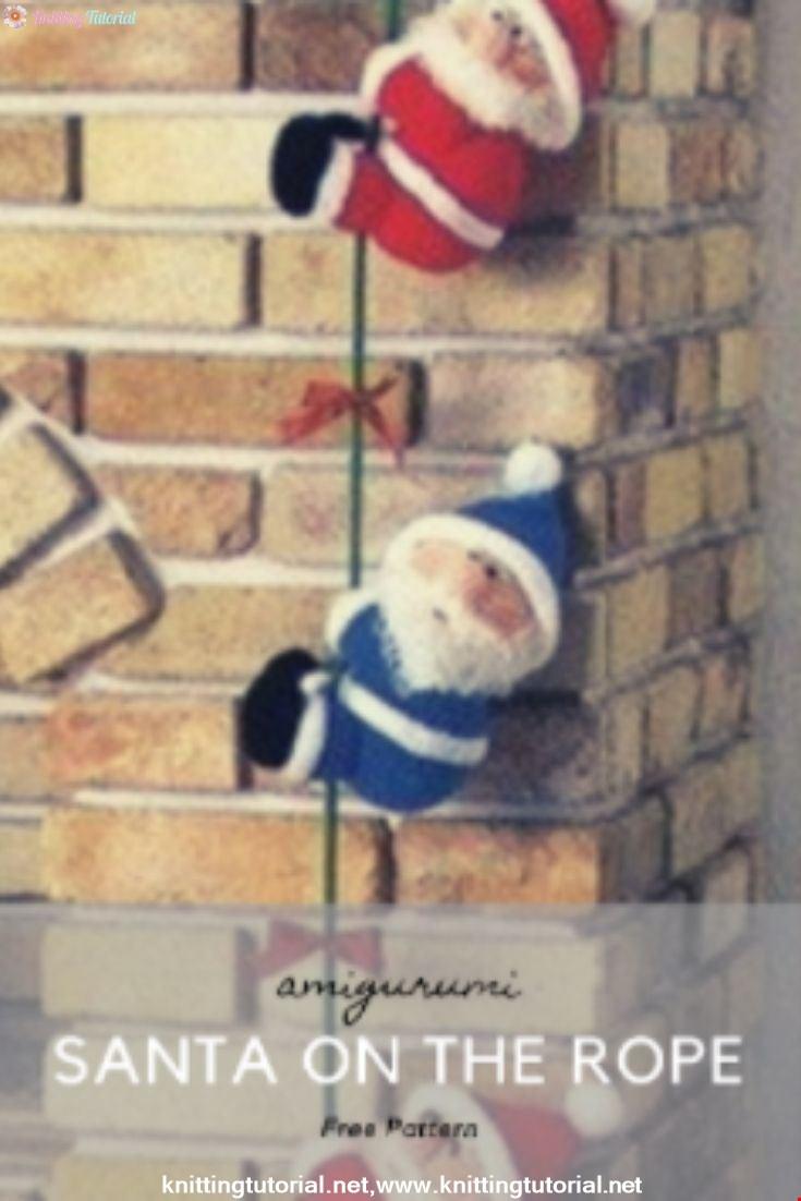 Santa On The Rope