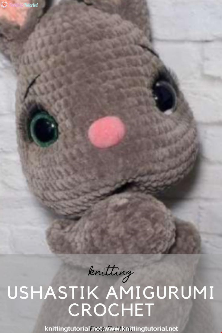 Ushastik Amigurumi Crochet