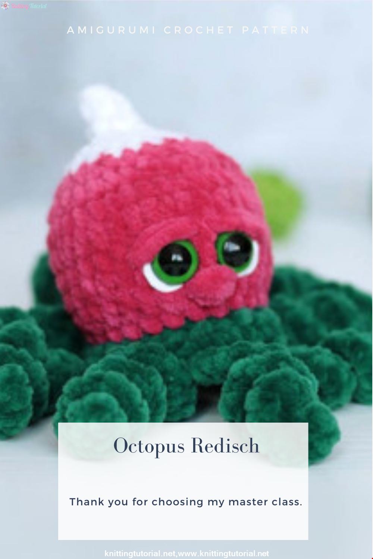 Amigurumi Octopus Redisch Crochet Pattern
