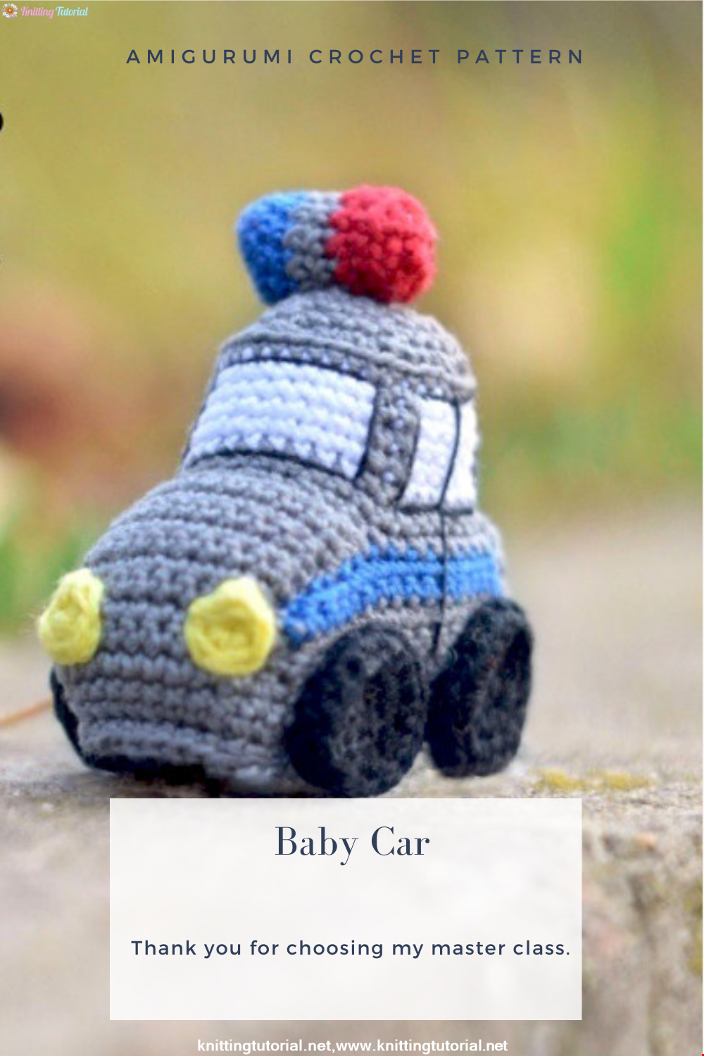 Amigurumi Baby Car Crochet Pattern