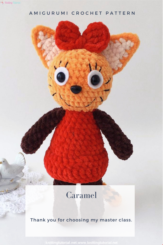 Amigurumi Caramel Crochet Pattern