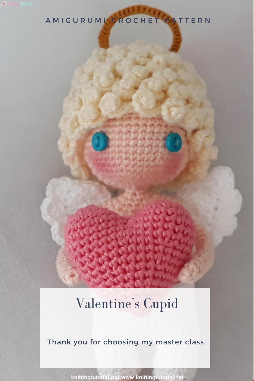 Amigurumi Valentine's Cupid Crochet Pattern